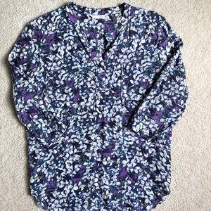 EUC Rebecca Taylor 100% silk blouse